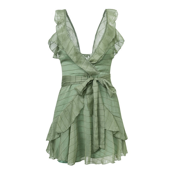 BELLA RUFFLE SUMMER DRESS