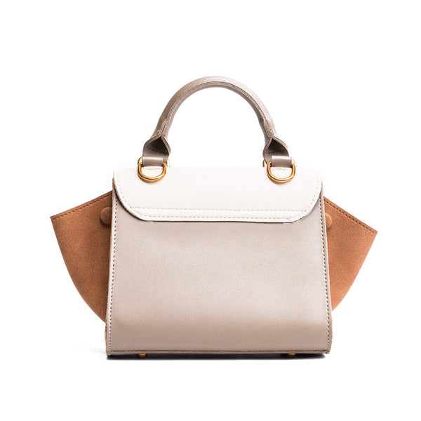 COLOR BLOCK WING SATCHEL