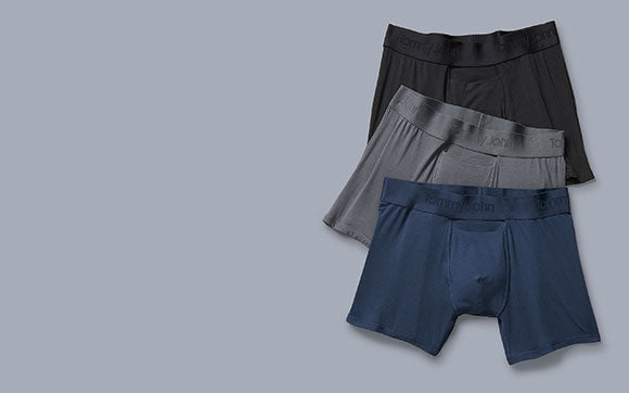 Image of 3 pack men's trunk underwear