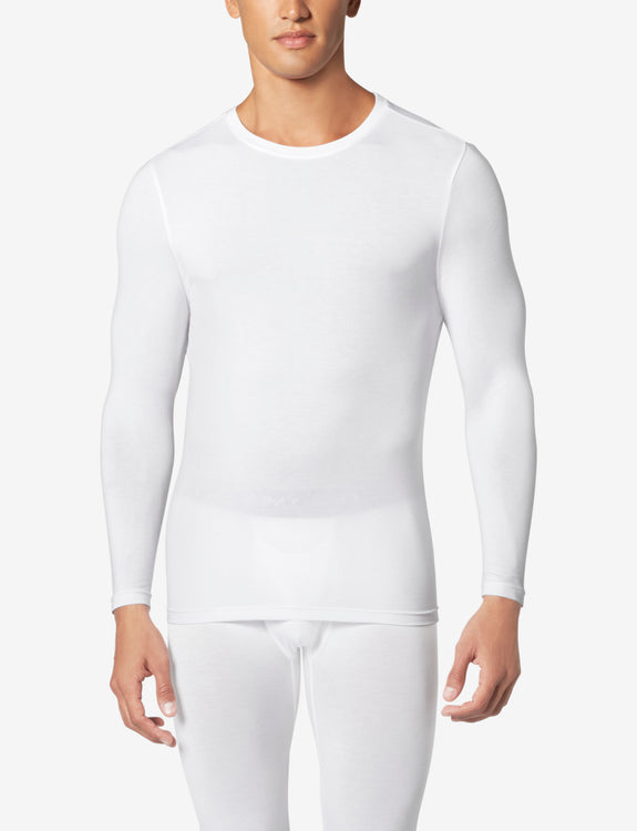 SleekHeat™ Long John Crew Neck Top
