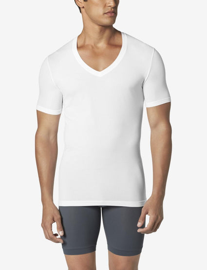 Second Skin Deep V-Neck Stay-Tucked Undershirt