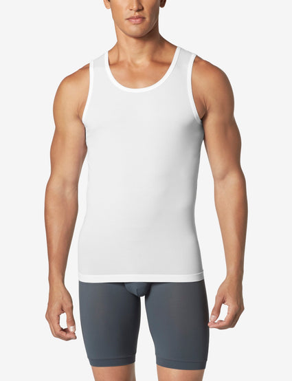 Second Skin Tank Stay-Tucked Undershirt