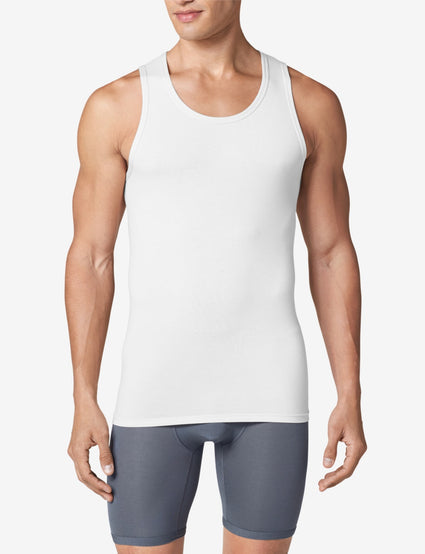 Cool Cotton Tank Stay-Tucked Undershirt
