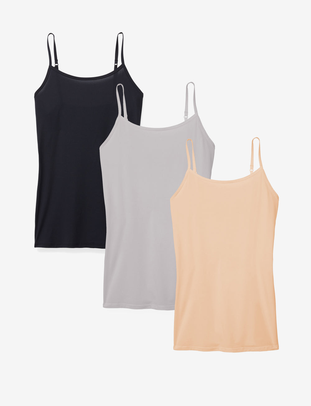 Women's Air Stay-Tucked Camisole 3 Pack Details Image