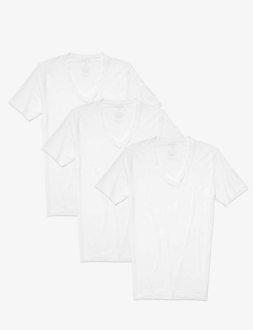 Air Deep V-Neck Undershirt 3 Pack Details Image