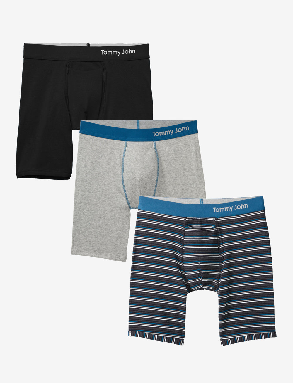 Men's Cool Cotton Boxer Brief Spring Sampler Pack Details Image