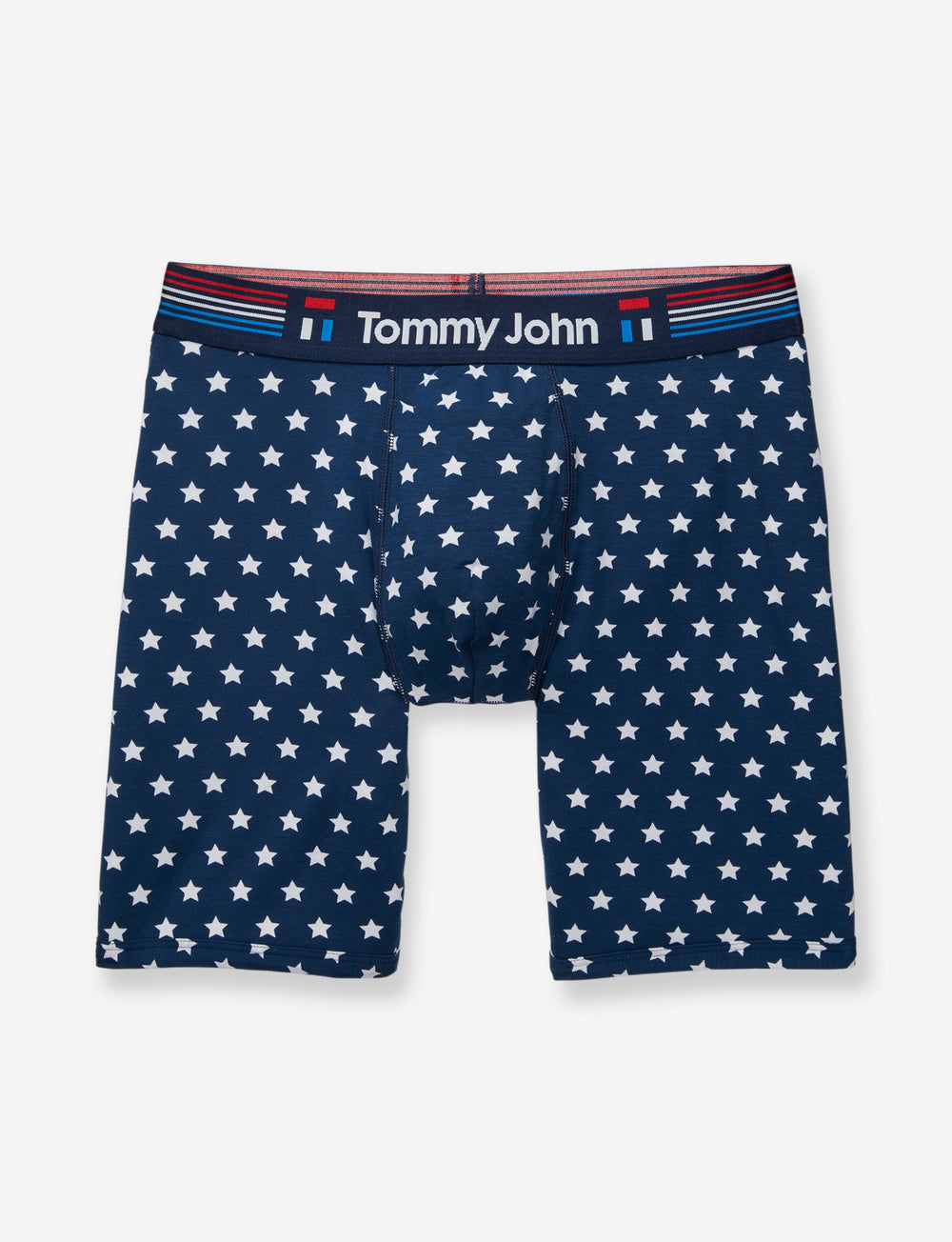 Cool Cotton Star Print Boxer Brief Details Image
