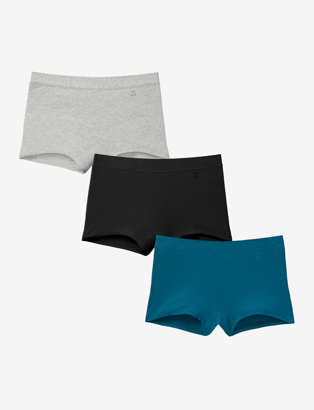 Women's Cool Cotton Boyshort Spring Pack Details Image