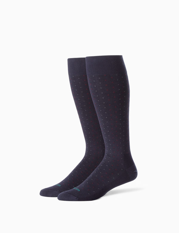 Ryan Dot Stay-Up Dress Sock