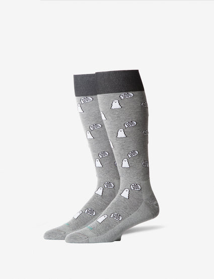 Ghost Stay-Up Dress Sock