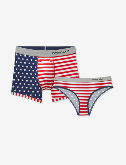 036def0334d His   Hers Cool Cotton US Flag Trunk   Cheeky ...