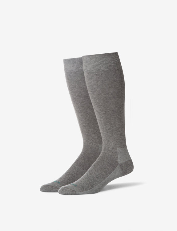 Solid Stay-Up Dress Sock