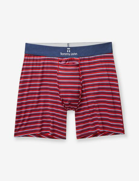 Skin Titanium Stripe Relaxed Fit Boxer