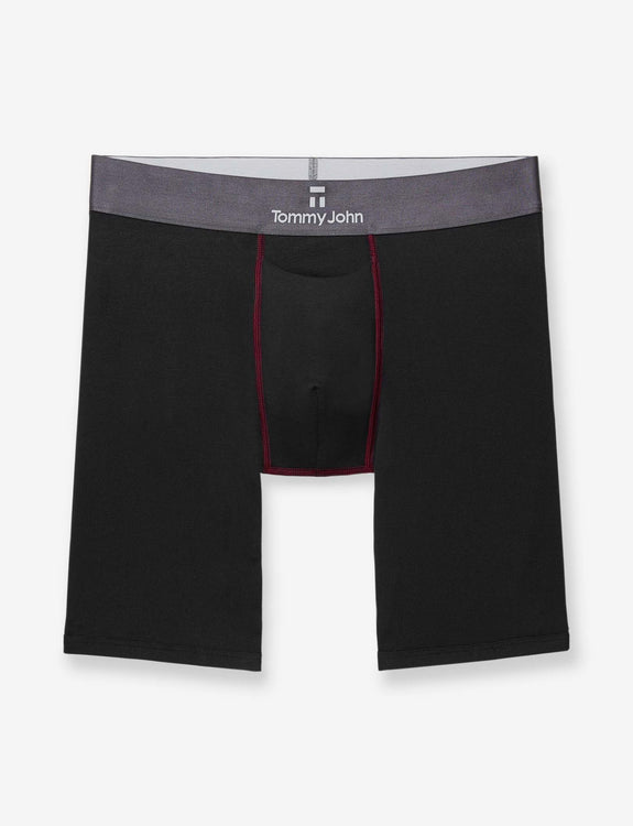 Second Skin Contrast Stitch Boxer Brief