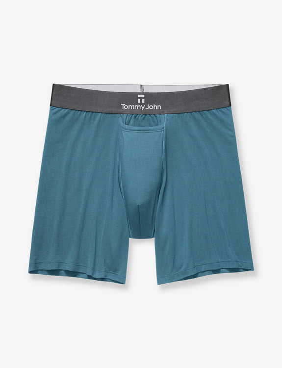 Second Skin Dark Titanium Relaxed Fit Boxer