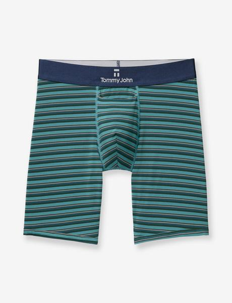 Second Skin Titanium Stripe Boxer Brief