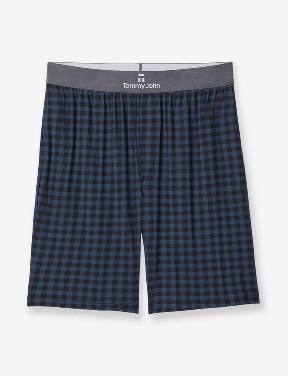 Second Skin Gingham Lounge Short