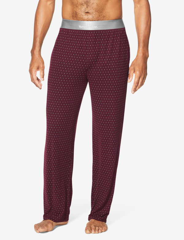 Second Skin Crescent Dot Titanium Lounge Pant