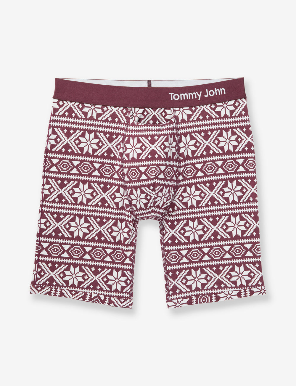 Cool Cotton Nordic Print Boxer Brief Details Image