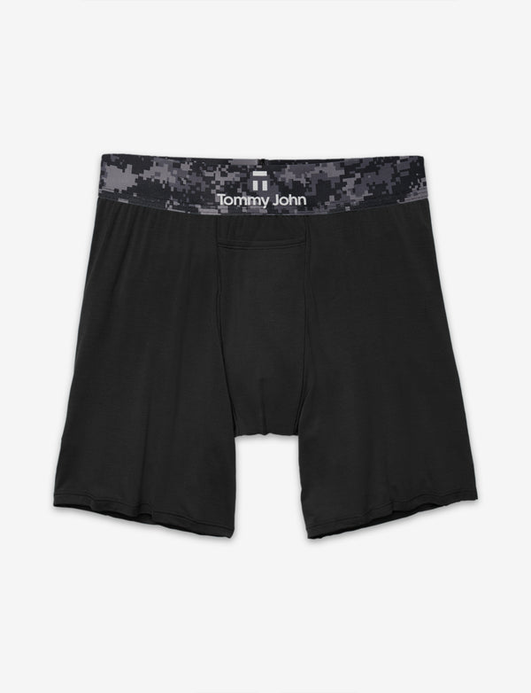 Second Skin Camo Waistband Relaxed Fit Boxer