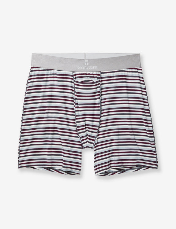 8d8508aa8c77 Second Skin Titanium Stripe Relaxed Fit Boxer – TommyJohn