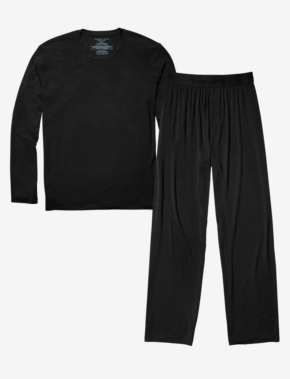 Lounge Pants and Long Sleeve Pack Details Image