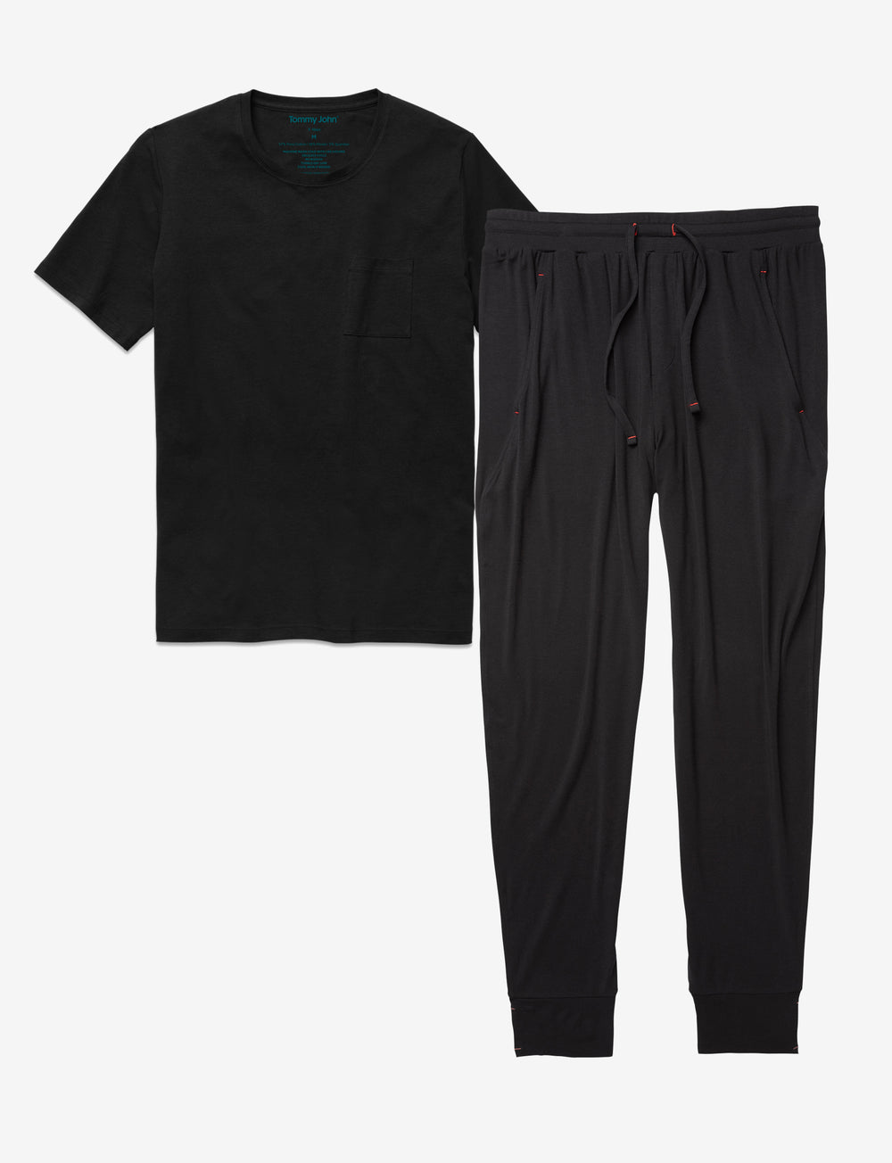 Lounge Jogger and Tee Pack Details Image