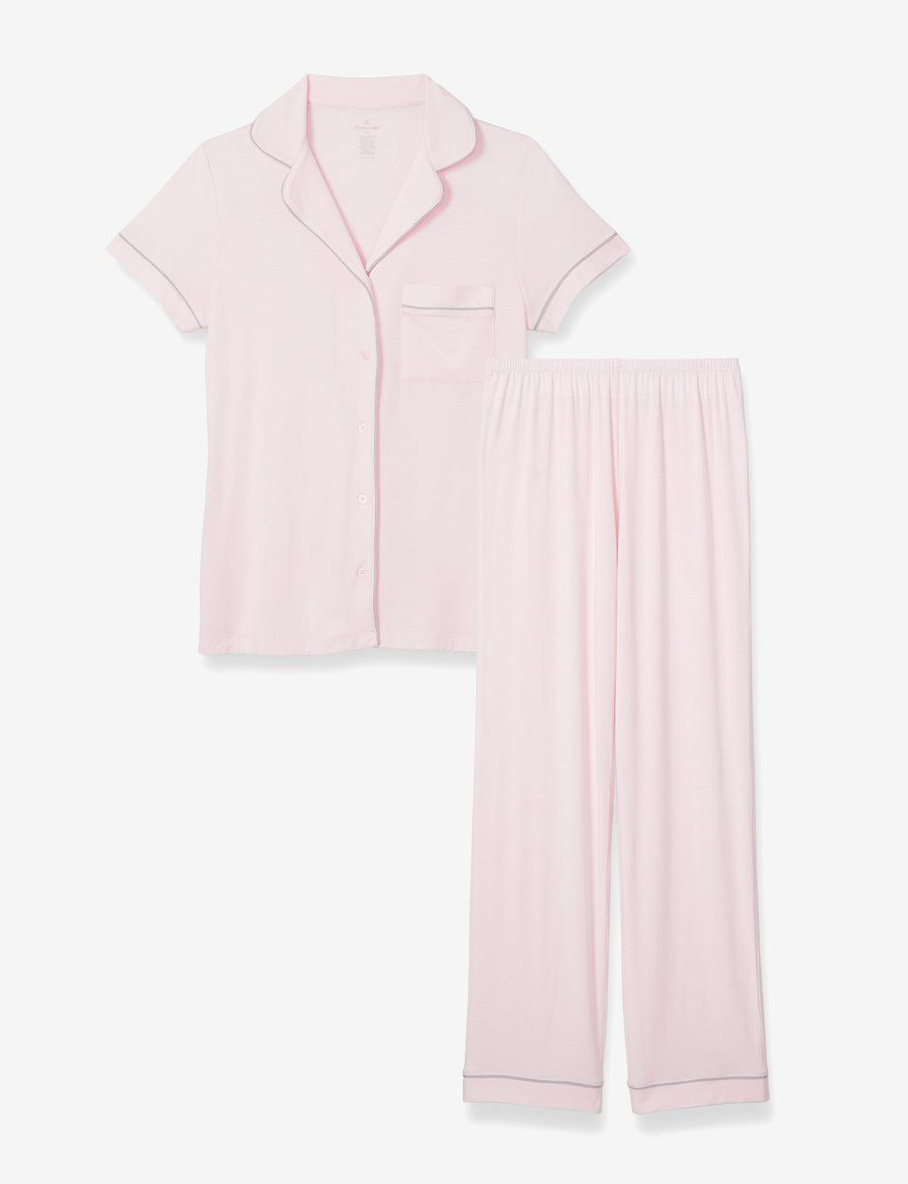 Mother's Day PJ Set Blush Top & Pant Details Image