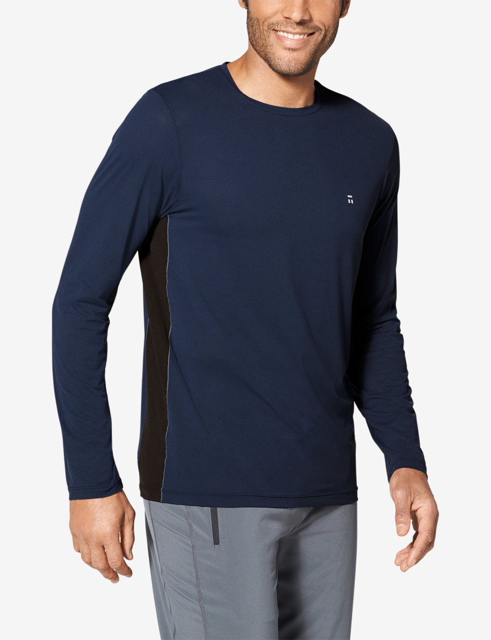 Air Mesh Performance Long Sleeve Details Image