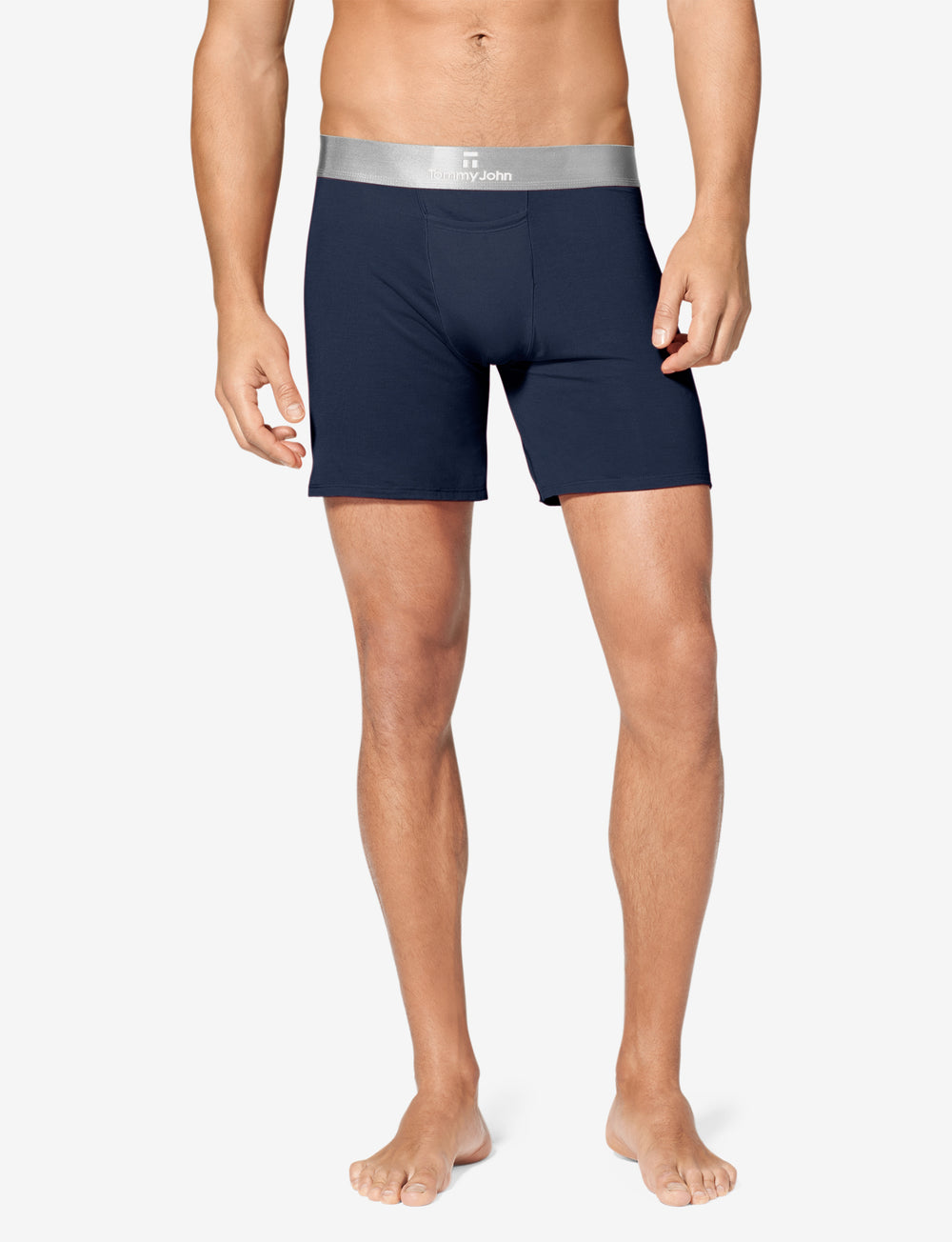 Second Skin Titanium Relaxed Fit Boxer Details Image
