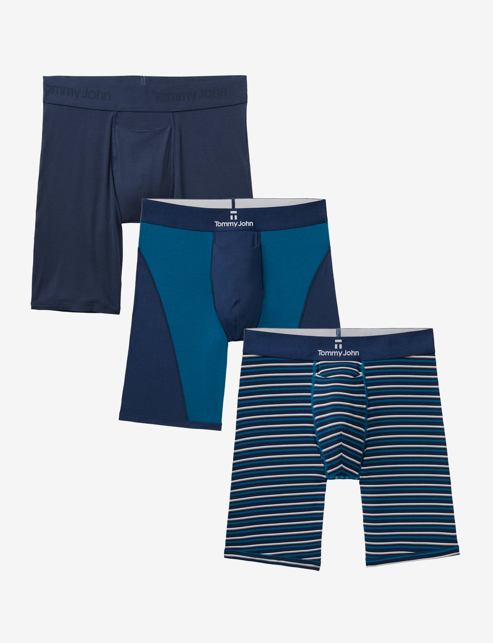 Men's Second Skin Boxer Brief Spring Sampler Pack Details Image