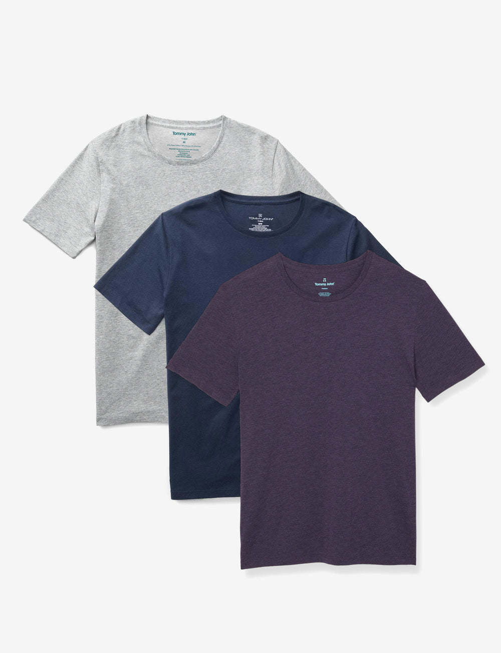 Second Skin Crew Neck Tee Fashion Pack Details Image