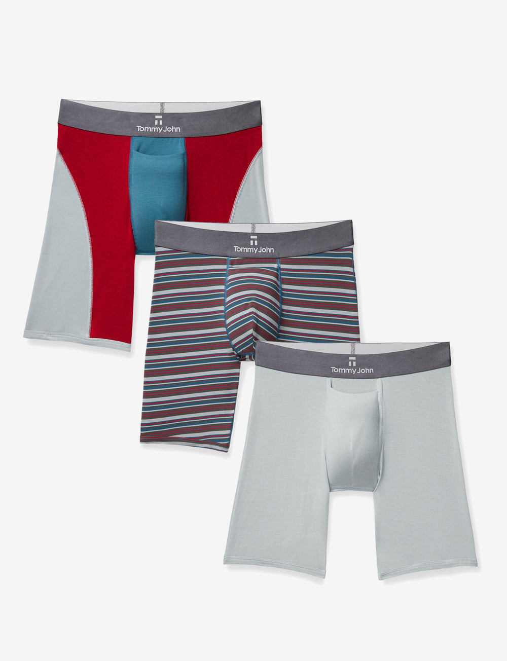 Second Skin High Summer Boxer Brief 3 Pack Details Image