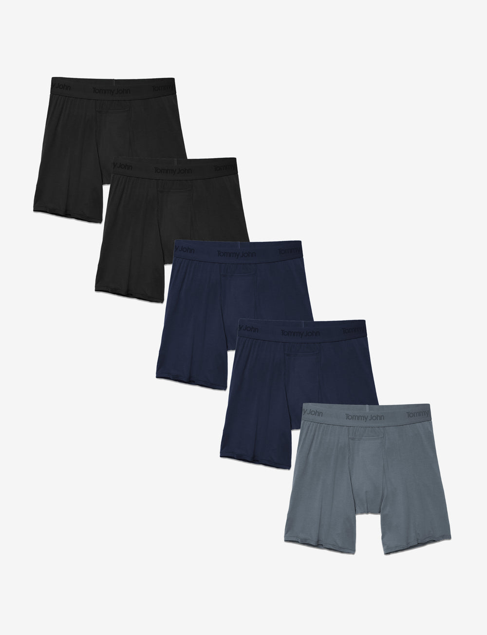 Second Skin Relaxed Fit Boxer 5 Pack Details Image