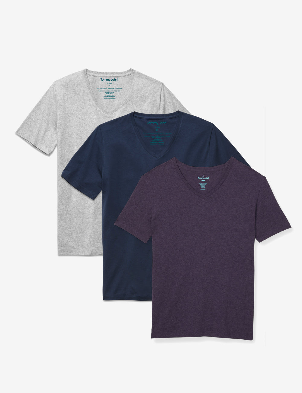 Second Skin V-Neck Tee Fashion Pack Details Image