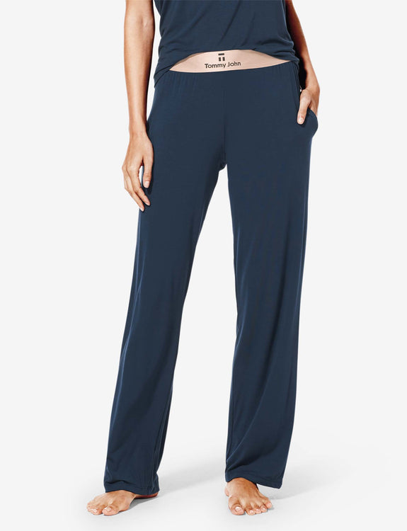 Women's Second Skin Rose Gold Sleep Pant