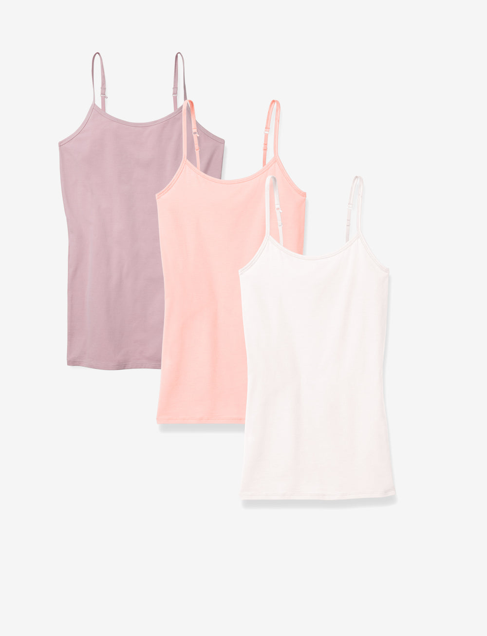 Women's Cool Cotton Peachy Cami 3 Pack Details Image