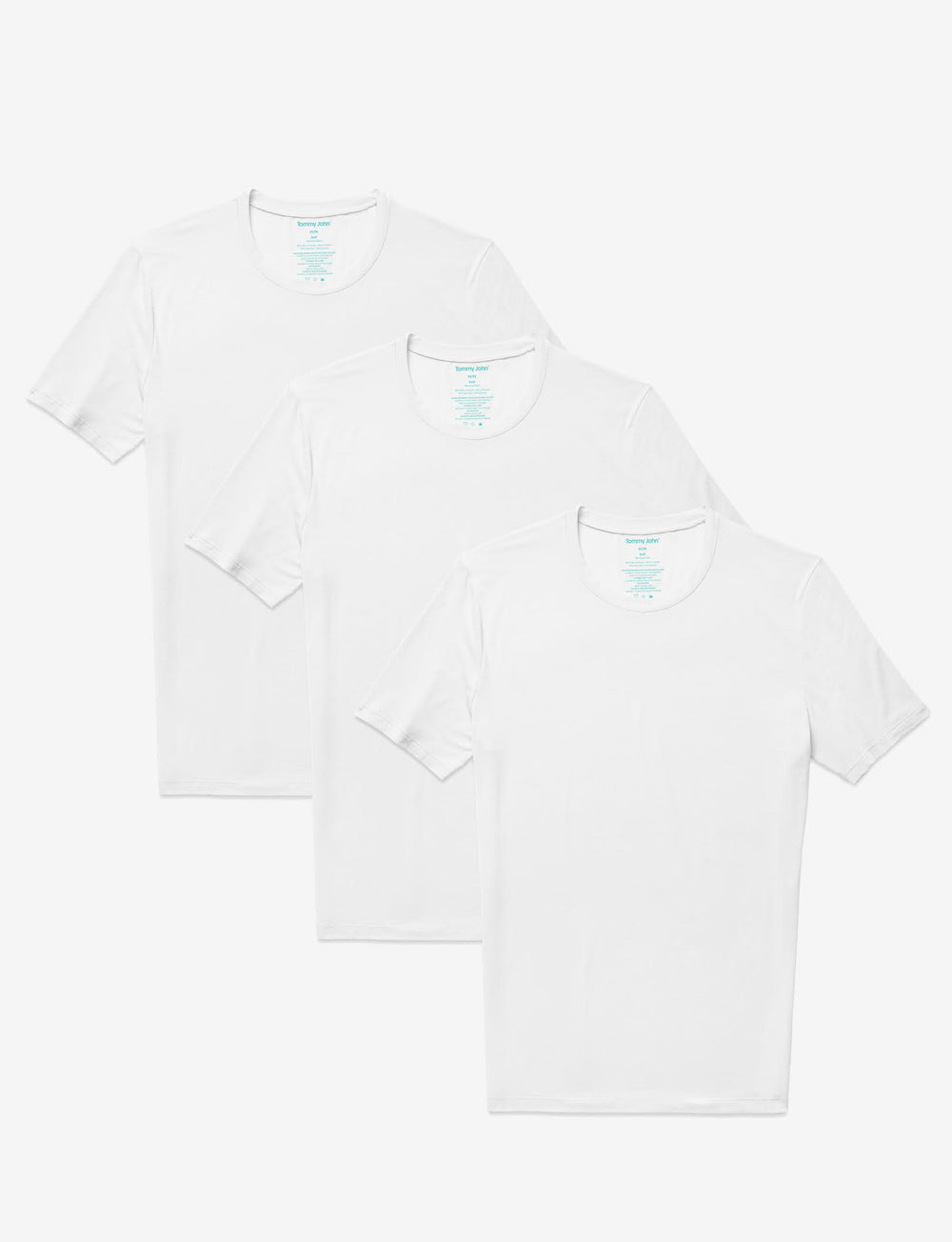 Second Skin Crew Neck Undershirt 3 Pack Details Image