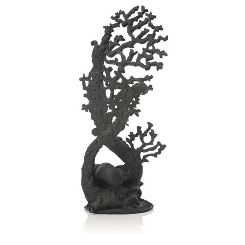 biOrb Fan Coral Sculpture black