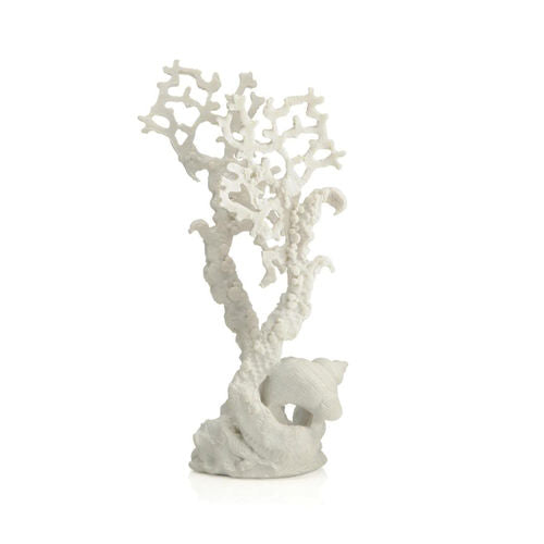 biOrb Fan Coral Sculpture medium white