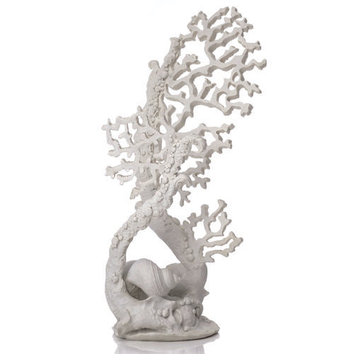 biOrb Fan Coral Sculpture white