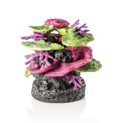 biOrb Coral Ridge Sculpture green-purple