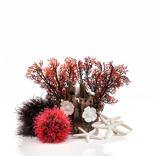 biOrb Aquarium Decor Set - Red Forest