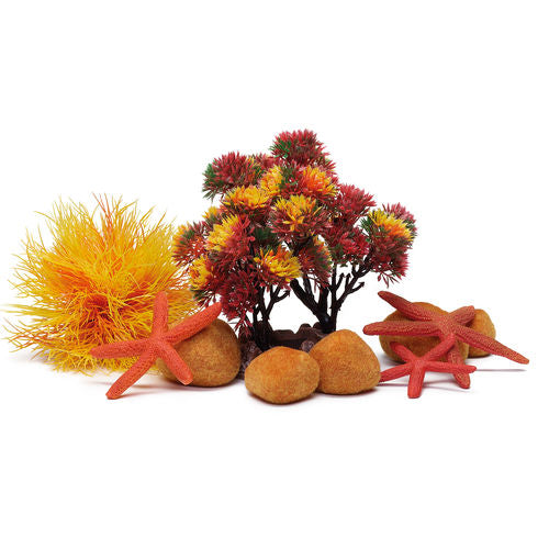 biOrb Aquarium Decor Set - Autumn