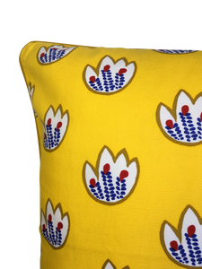 Yellow Tulips 50 x 50cm Cushion Cover