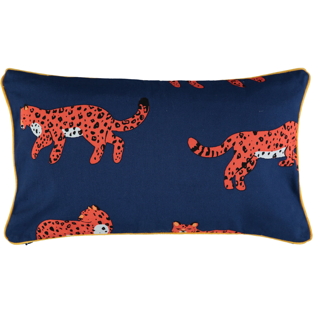 Lounging Leopards 30 x 50cm Cushion Cover