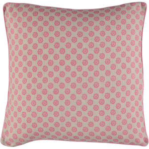 Pink Clover Cushion Cover 50 x 50cm