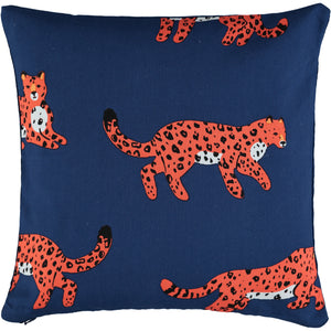 Lounging Leopards 40 x 40cm Cushion Cover