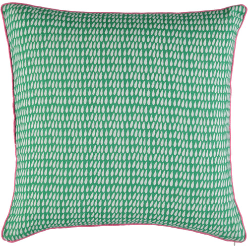 Green Droplet 50 x 50cm Cushion Cover - Pre order now!