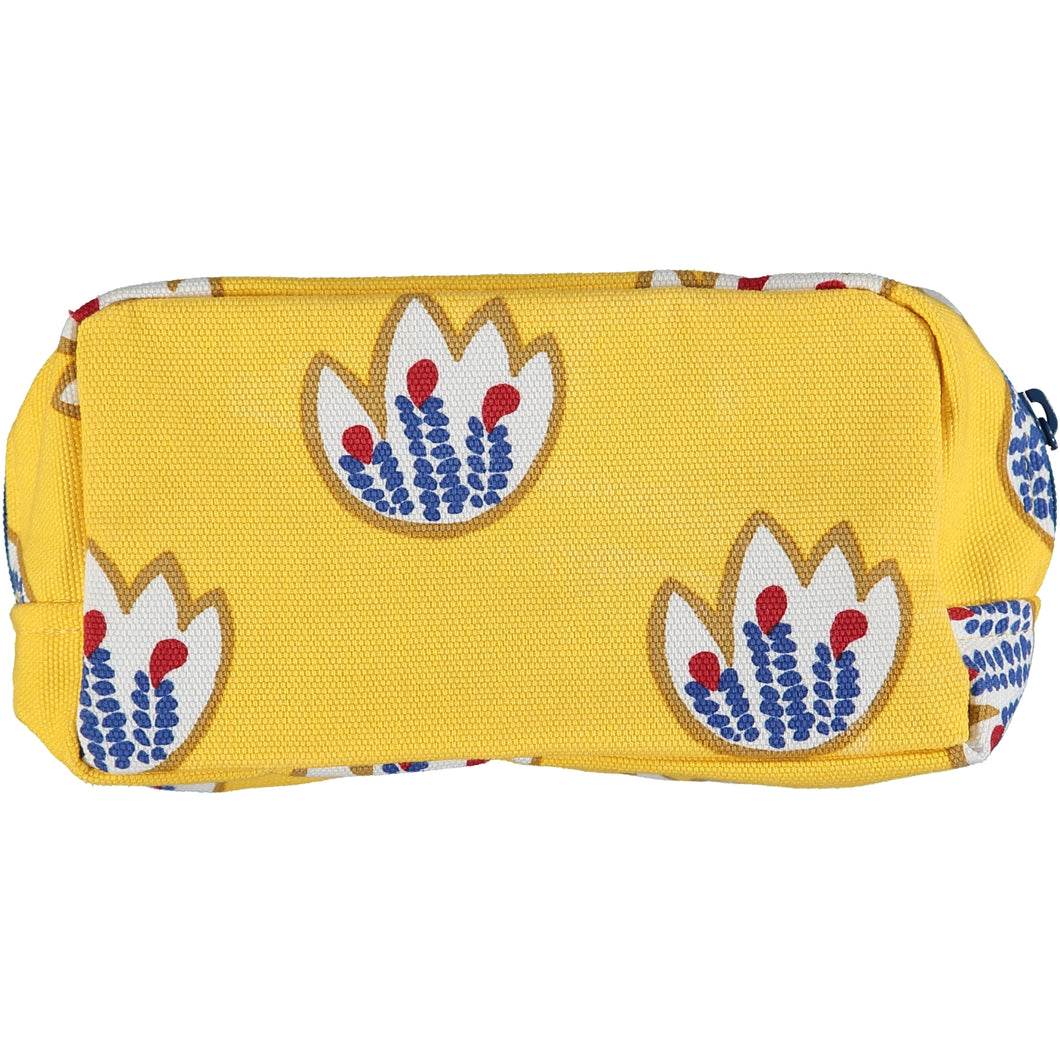 Yellow Tulips Makeup Bag